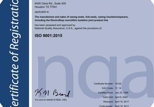 Houston GPT ISO 9001-2015 Certification-1